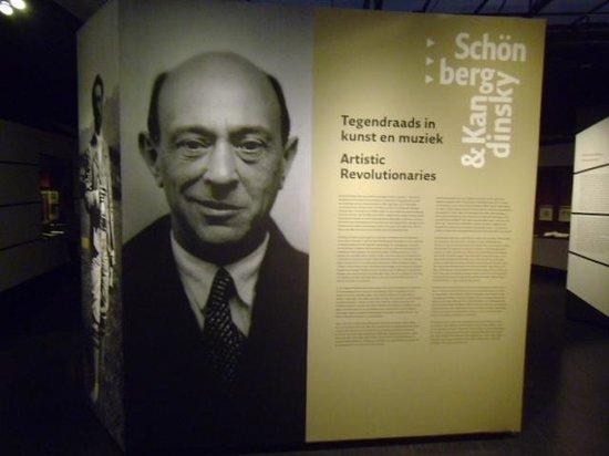 Jewish Historical Museum: Schonberg exhibition