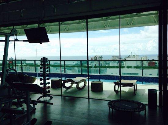 Sotero Hotel: Vista da academia