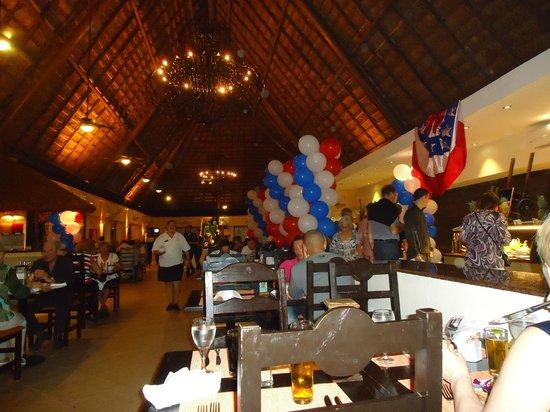 Sandos Caracol Eco Resort: restaurante
