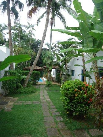 Pousada Ilha de Itaka: El jardín
