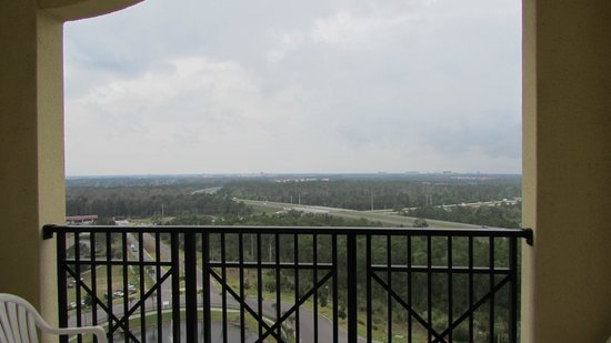 Lake Buena Vista Resort Village & Spa : cloudy but still beautiful day on the balcony