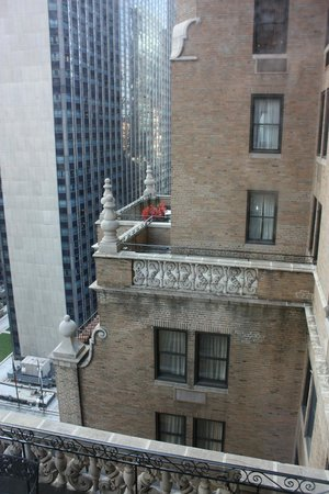 Warwick New York: vue sur une terrasse