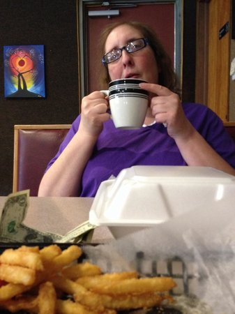 Jones, MI: Lunch with my daughter