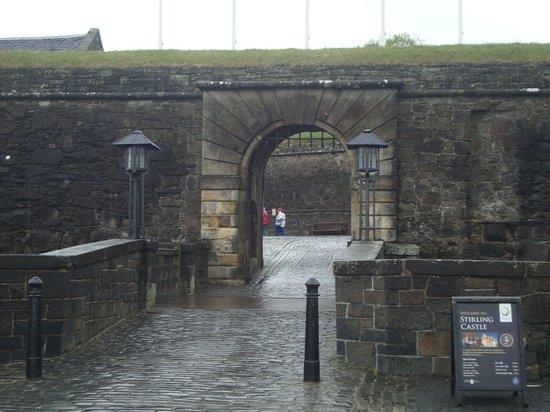 Stirling Castle: Frente do castelo