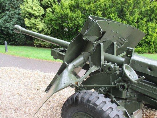 History Trips: British field gun outside Airborne Museum Oosterbeek