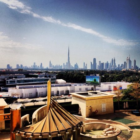 Raffles Dubai: View from our room