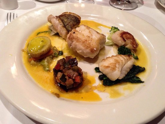 Fish selection main course picture of ostlers close for Fish on main