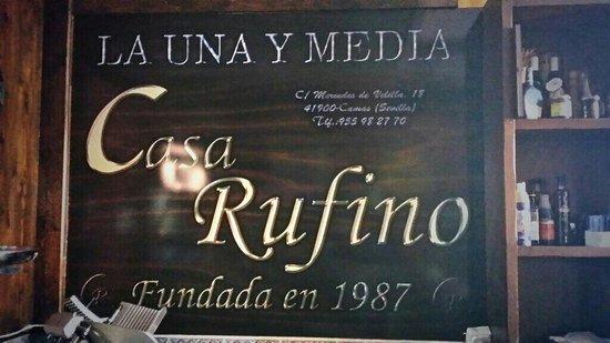 Casa Rufino: La calidad sólo tiene un sitio!