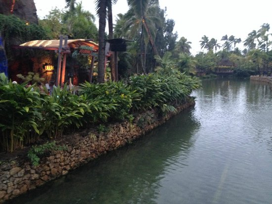 Polynesian Cultural Center: View of the Park