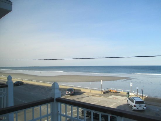 Nantasket Beach Resort : View from balcony of rm 212