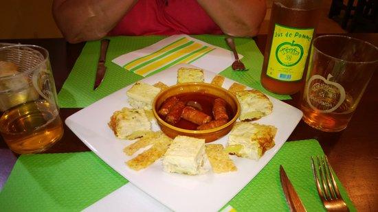 Cidrerie Txopinondo sagarnotegia : amuses bouches