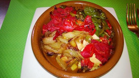 Cidrerie Txopinondo sagarnotegia : cassolette de thon