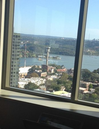 Amora Hotel Jamison Sydney : View from bed room 2915