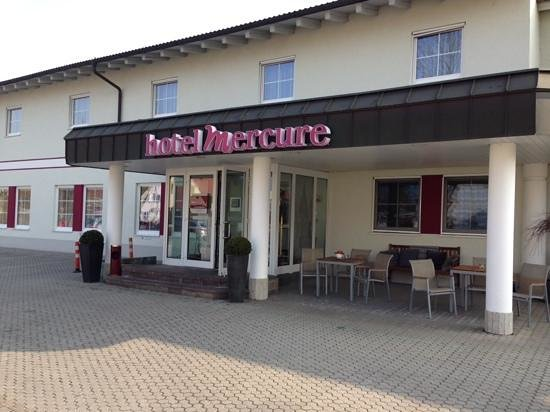 Mercure Hotel Ingolstadt: main entrance