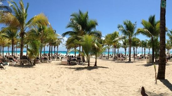 Hotel Riu Playacar : Almost paradise
