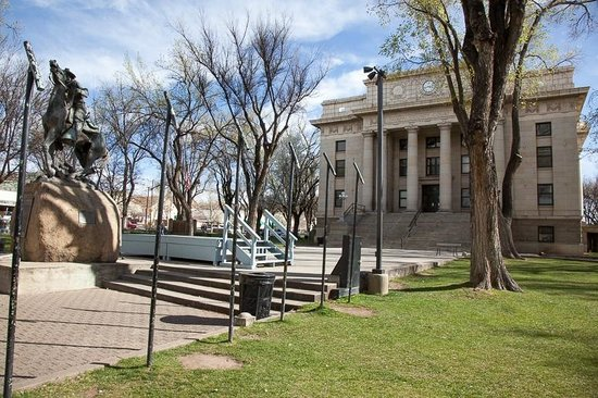Downtown Historic Area : The Old Courthouse and Century Old Bandstand