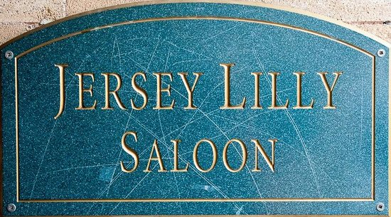 Downtown Historic Area : The Jersey Lilly