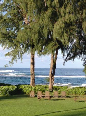 Hanalei Colony Resort: View from Lanai