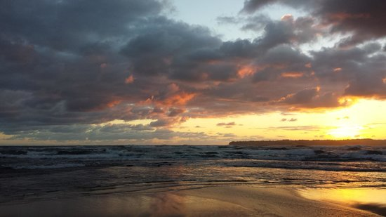 Hanalei Colony Resort: Sunrise from our beach.