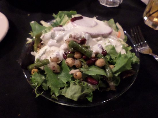 Miracle Springs Resort and Spa: Best salad ever! House Salad