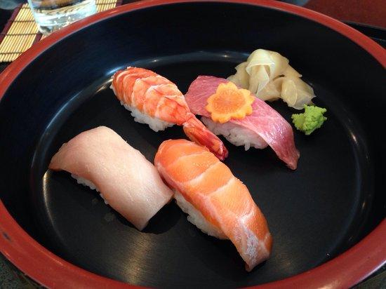 Basho-An: Sushi in the mittagesmenu