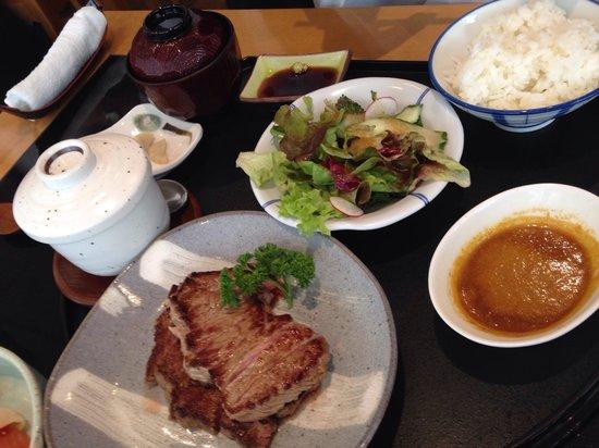 Basho-An: Steak menu
