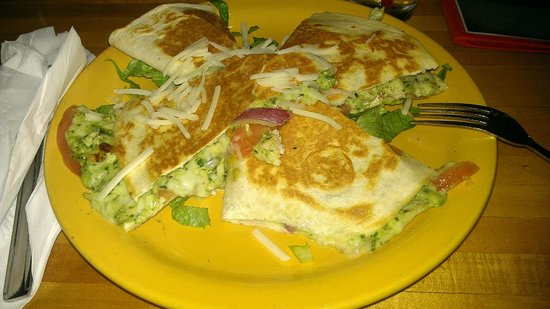 Bubba's : Super yummy quesadilla!