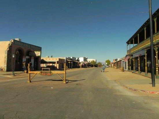Allen Street: Tombstone