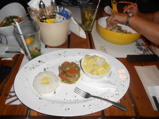 Gusto creativo italiano: another picture of curry