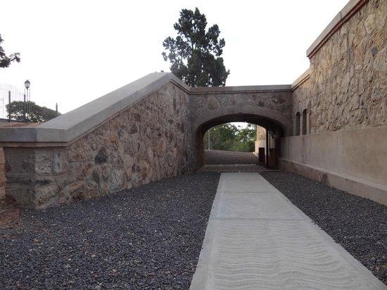 Castillo San Carlos: Entrada al museo