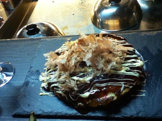 Okomusu Paris: Voila un bel Okonomiyaki !