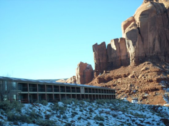 Goulding's Lodge & Campground : hotel grounds
