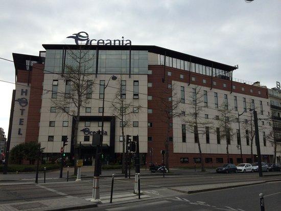 Hotel Oceania Paris Porte de Versailles : Façade