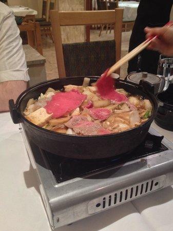Japanese Restaurant Miyama: Sukiyaki