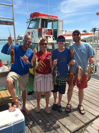 Dive Duck Key: Second day's catch!