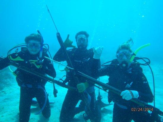 Dive Duck Key: Spearfishing!