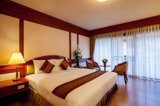 Rim Tara Boutique Resort: Deluxe Room with Balcony and Garden view