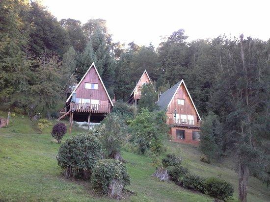 Villa Panil: las cabanias