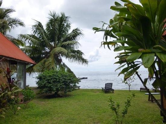 Fare Vaihere : view from my bungalow
