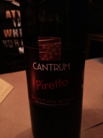 Vertical: Ottimo vino...