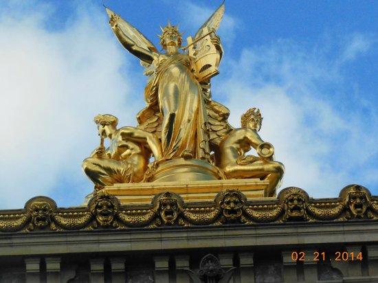 Opéra Garnier : Atop the Opera House
