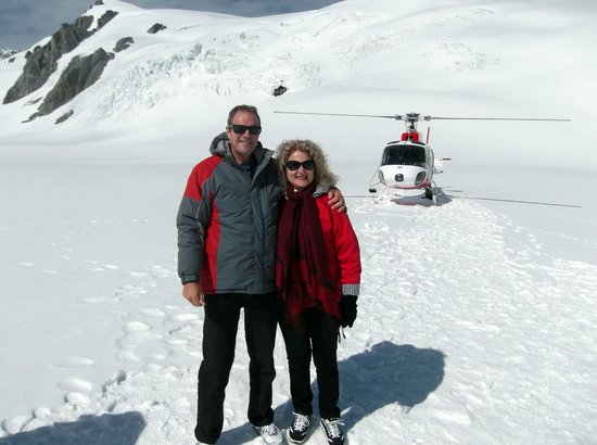 Glacier Helicopters: Fox Glacier tour