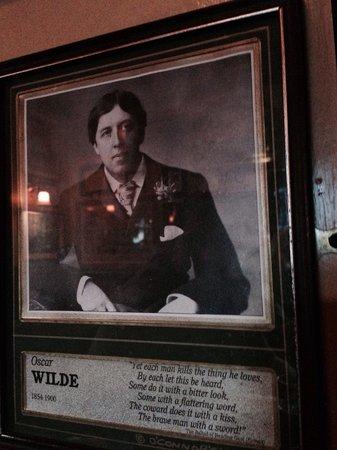 O'Connor's Restaurant & Bar : Oscar Wilde