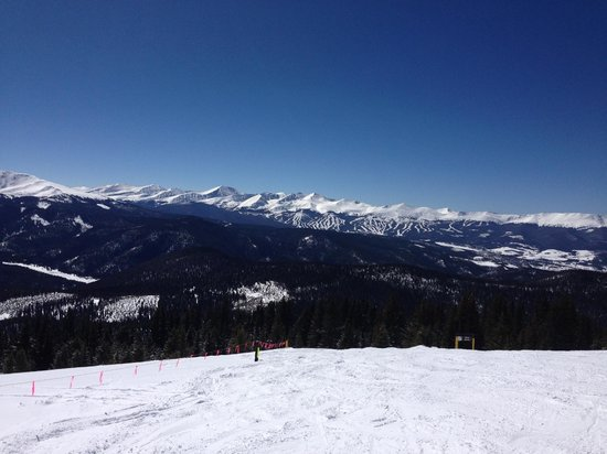 Keystone Lodge & Spa: Top of Outback view to Breck