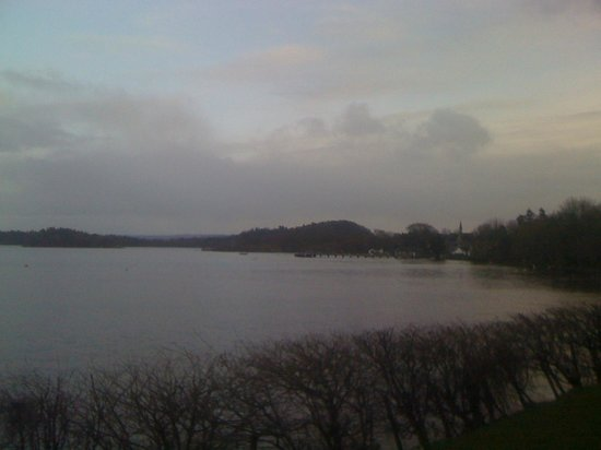 Lodge on Loch Lomond: view from the balcony