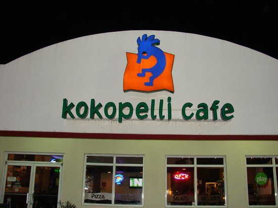 Kokopelli Cafe : Kokopelli has AWESOME pizza!