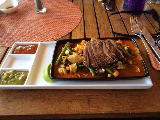 Rosa Mexicano - Los Angeles: Veggie tacos delicious!
