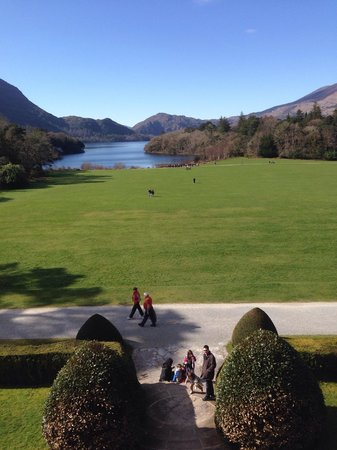 Muckross House, Gardens & Traditional Farms: View from the master bead room out to the lake.