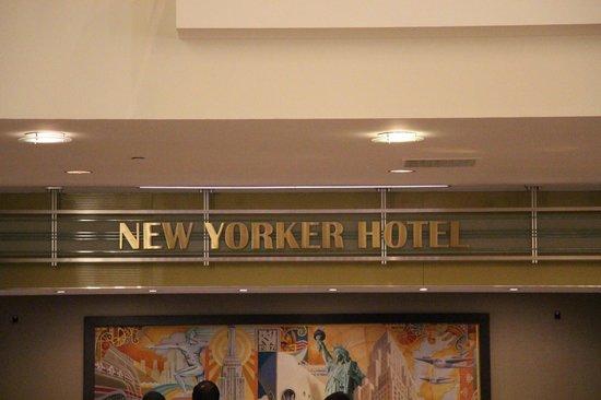 Wyndham New Yorker Hotel : main lobby