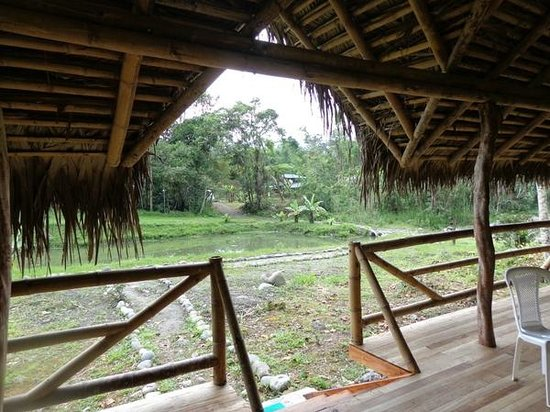 Rio Quijos Eco Lodge : Open Air Meeting Place